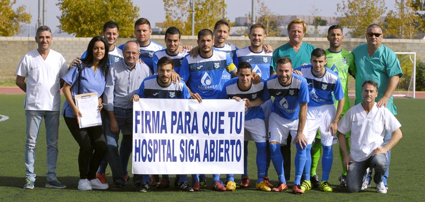 La UDV en apoyo con el Hospital de Villamartín
