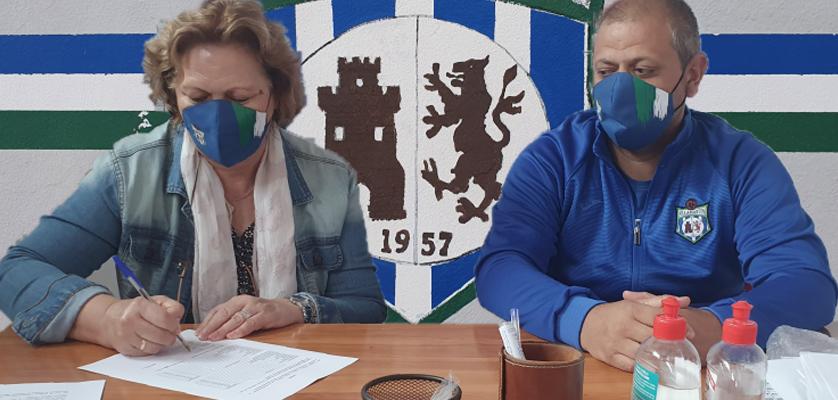 Arti-Cuero S.A. y la UD Villamartín firman un acuerdo de patrocinio